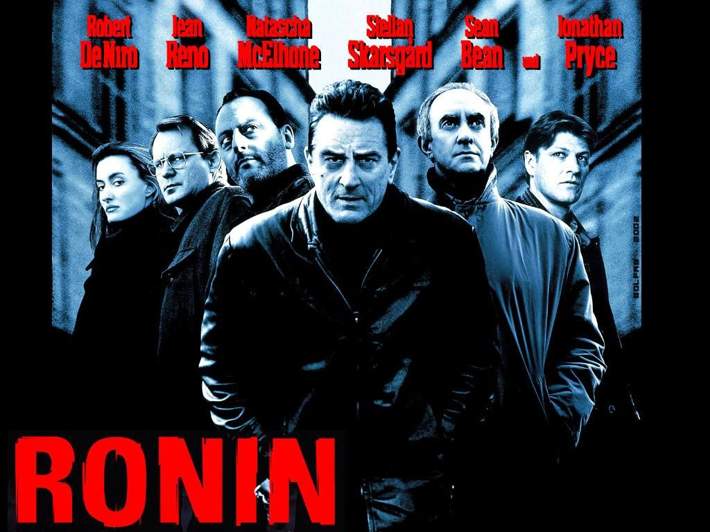 RONIN Robert de Niro Jean Reno Sean Bean Natascha McElhone ...