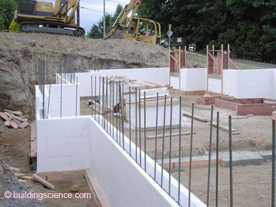 Foam concrete forms things pinterest concrete and for Foam concrete forms