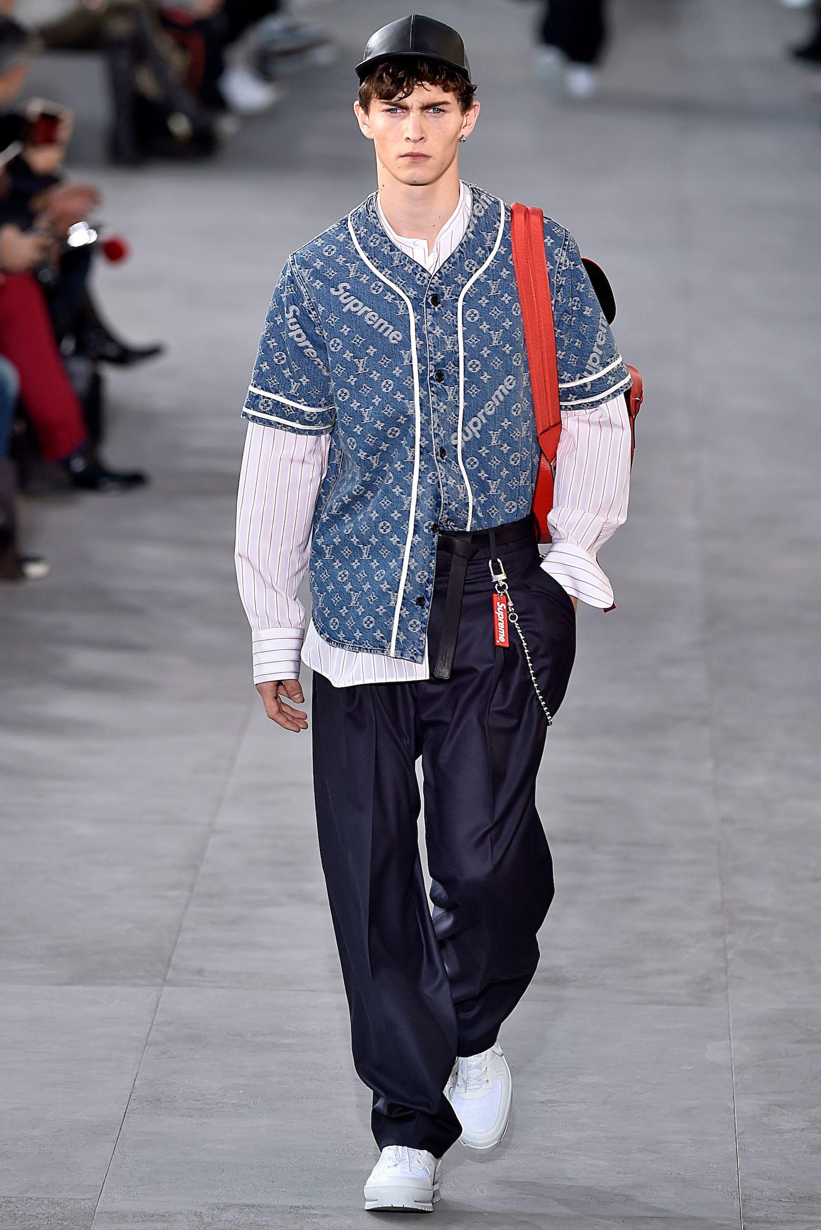 Louis Vuitton x Supreme Paris Men - Fall Winter 2017 ...