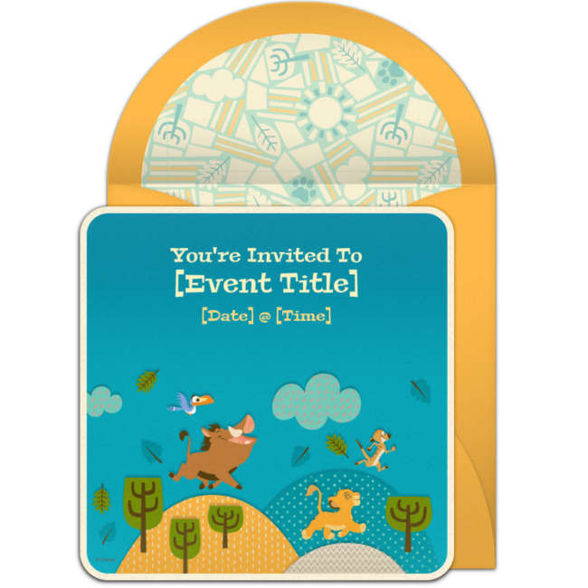 Free The Lion King Invitations Lion King Baby Shower Pinterest Rey