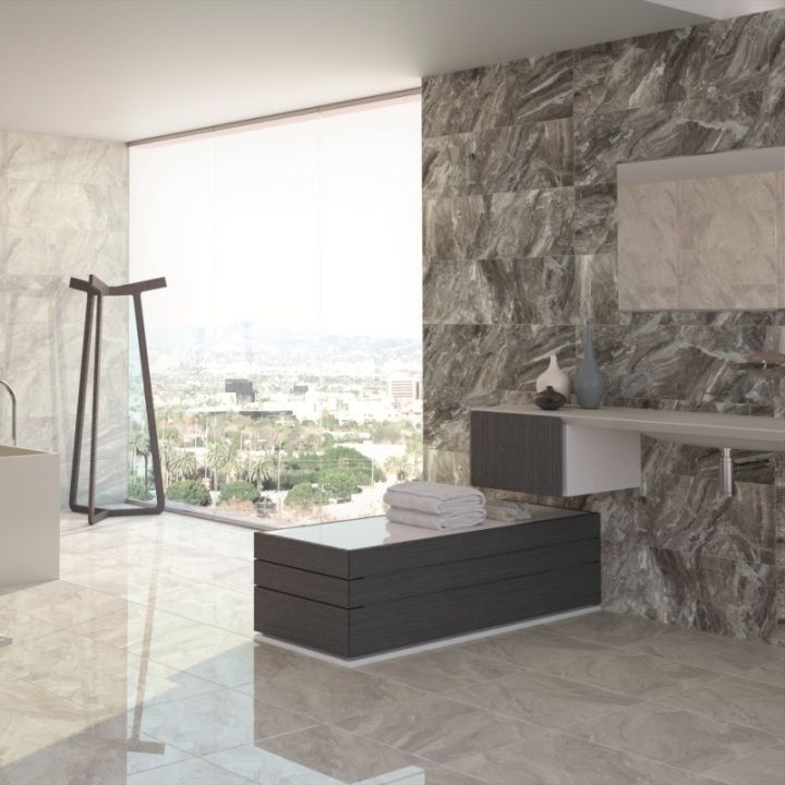 These Grey Marble Effect Tiles Are Beautiful High Gloss Floor Tiles Popular F