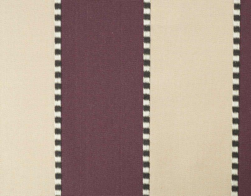 faucigny - rayure jacquard in manganese from pierre frey #fabric #stripe #purple