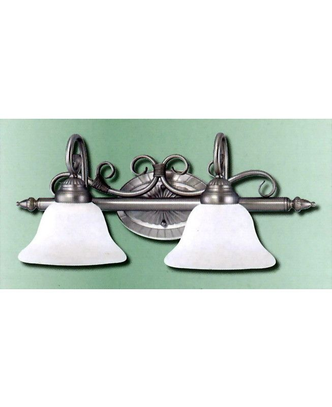 epiphany lighting 103680 sl two light bath wall light in painted