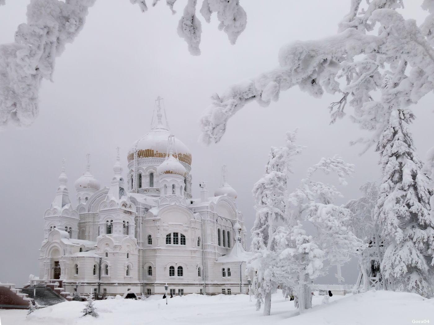 Фото зимняя белая церква