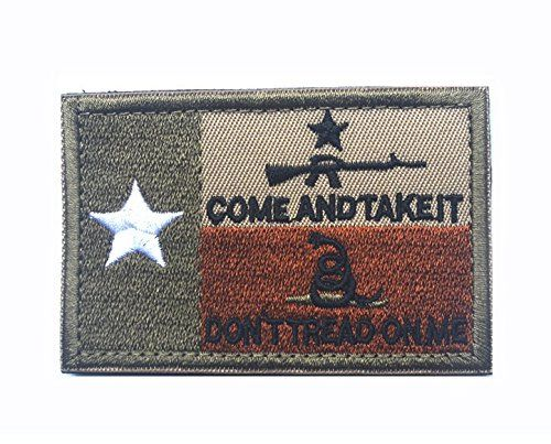 As Texas Flag Tactical Patches Embroidered Patches Arts Crafts Sewing Cloth Badges