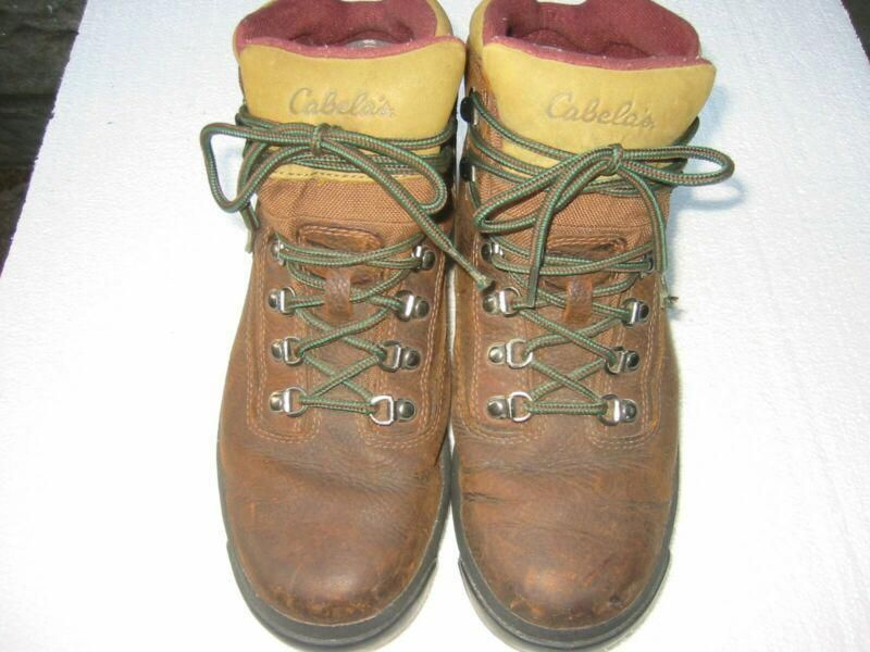 For sale Cabelas Mens GoreTex Hiking Boots Size 1012 D 811304 Worn once