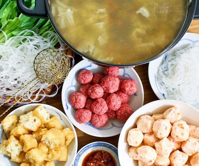 Chinese hot pot recipe meals asian soup and shabu shabu chinese hot pot forumfinder Images