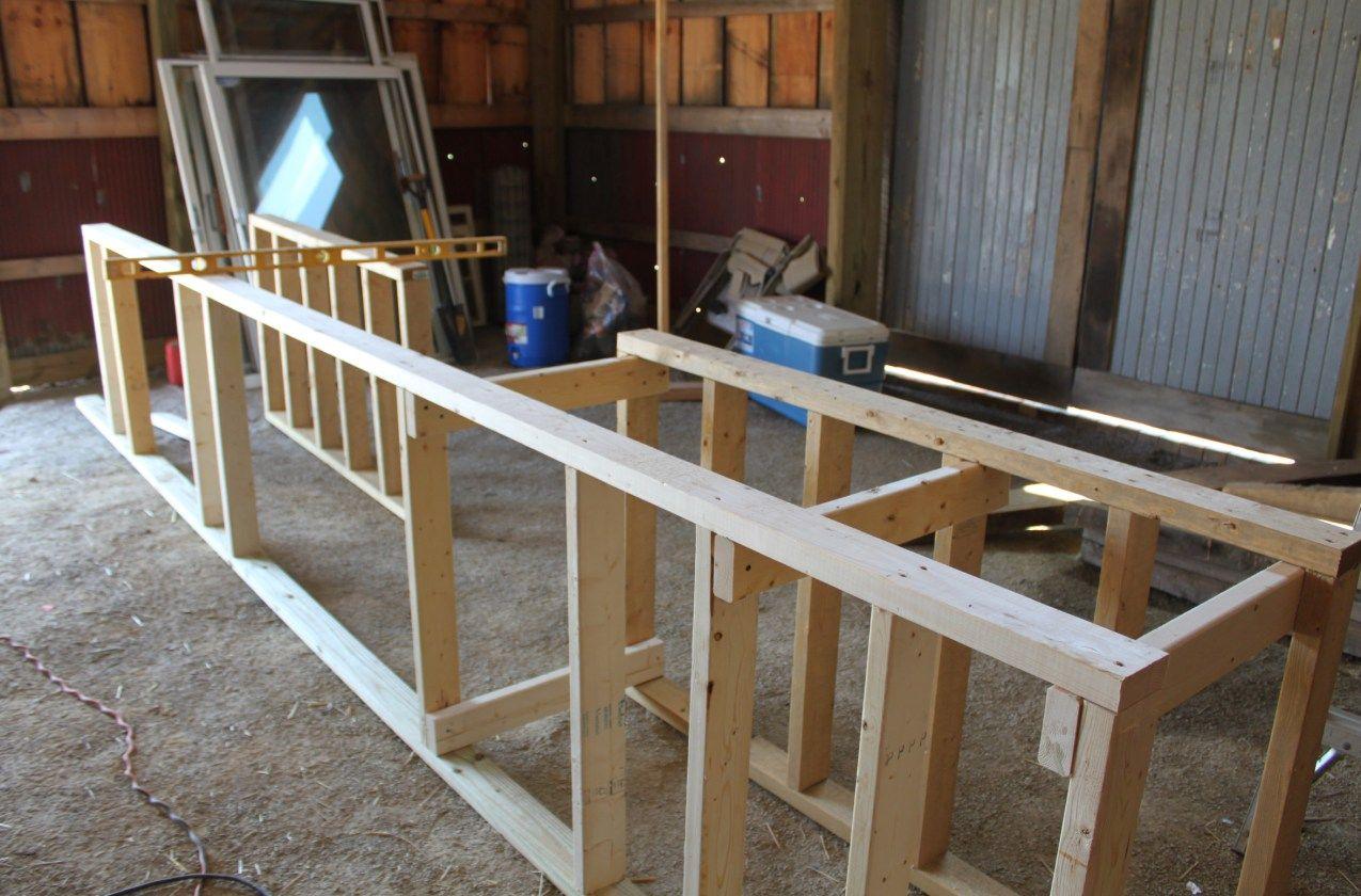 Building An Inexpensive Rustic Outdoor Kitchen Build Outdoor