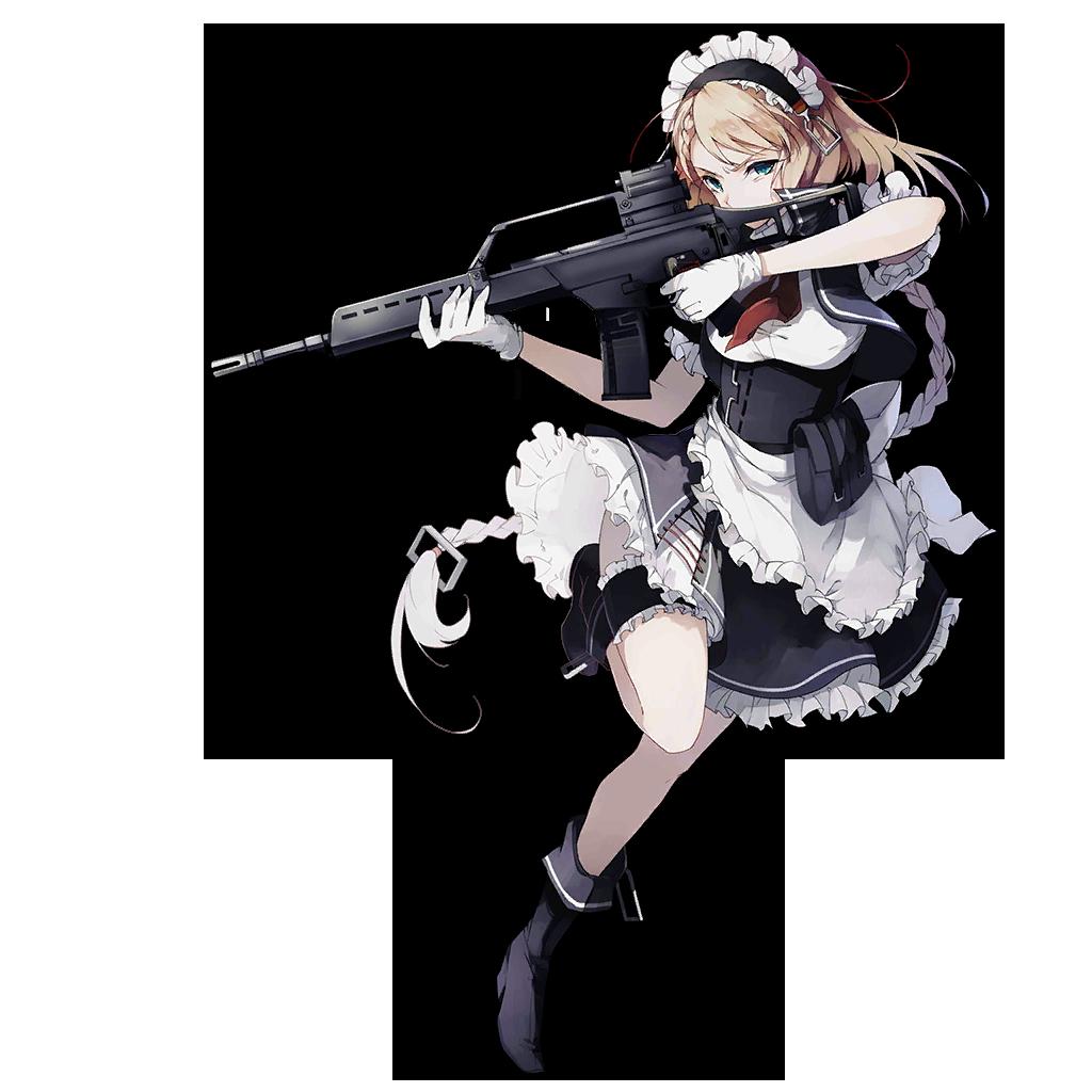 Pin On Anime Girls Girls N Guns