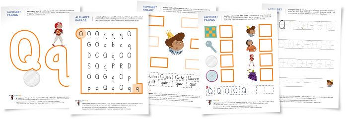 Common Worksheets » Letter Q Activities For Kindergarten ...