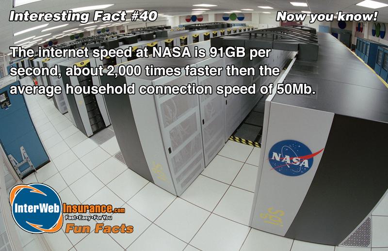 net speed in nasa