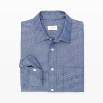 Slim-Fit Dot Dobby Shirt - A polished new take on our favorite slim-fit cut, this button-down features a minuscule pattern and a crisp point collar.