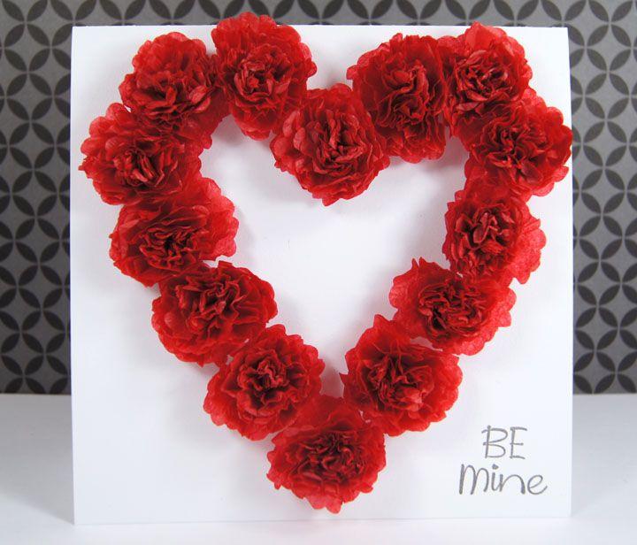 Pinterest Valentine Flowers Craft Popper Mimi Paper Crafts