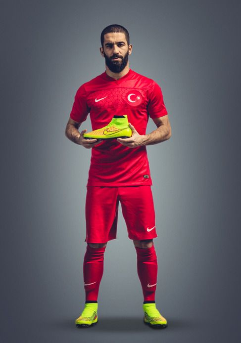 Arda Turan: Nike Revolution the Soccer Boots with 'Magista'.  Building on Nike's history of groun...
