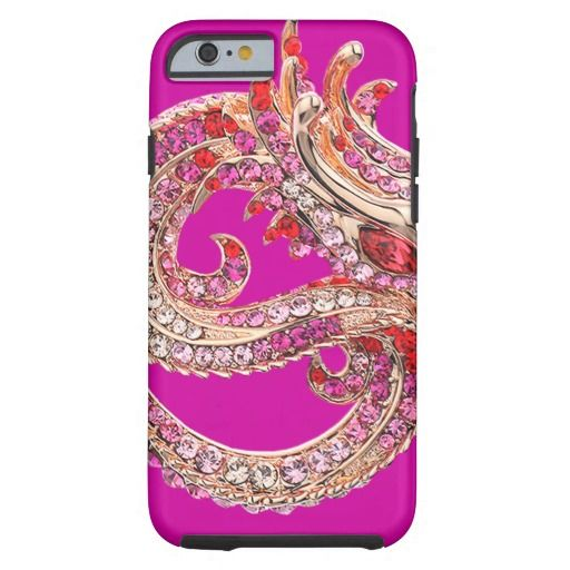 iPhone 6 Pretty Pink Bejeweled