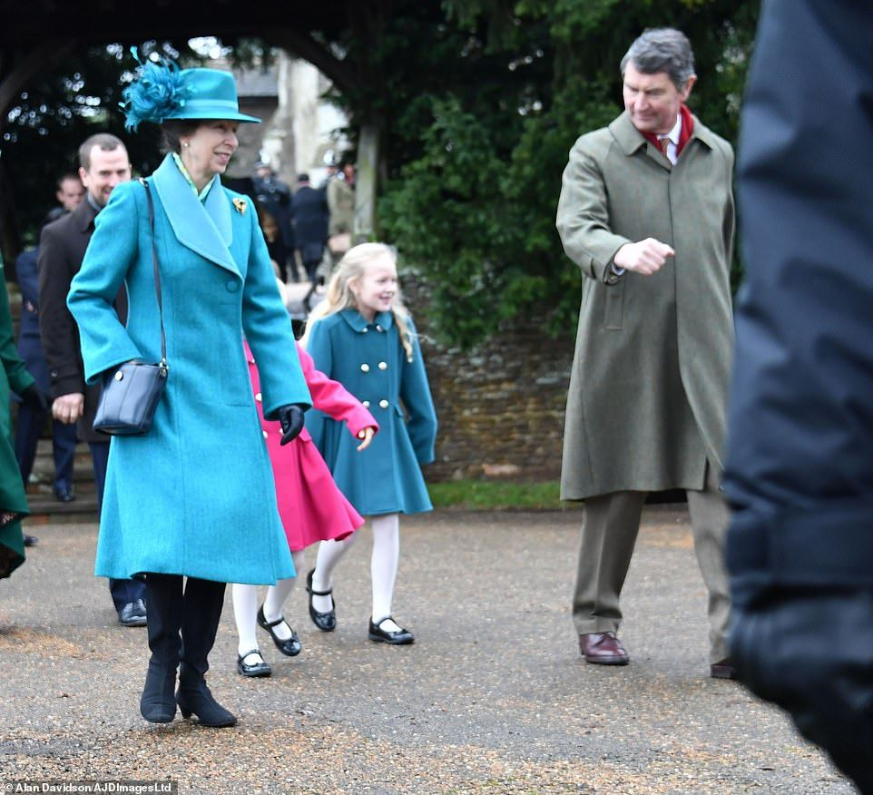 Princess Anne, The Princess Royal, and her husband