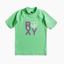 Roxy Girls Love and Peace Irish Green UV Swim Shirt - Click for more information and to buy