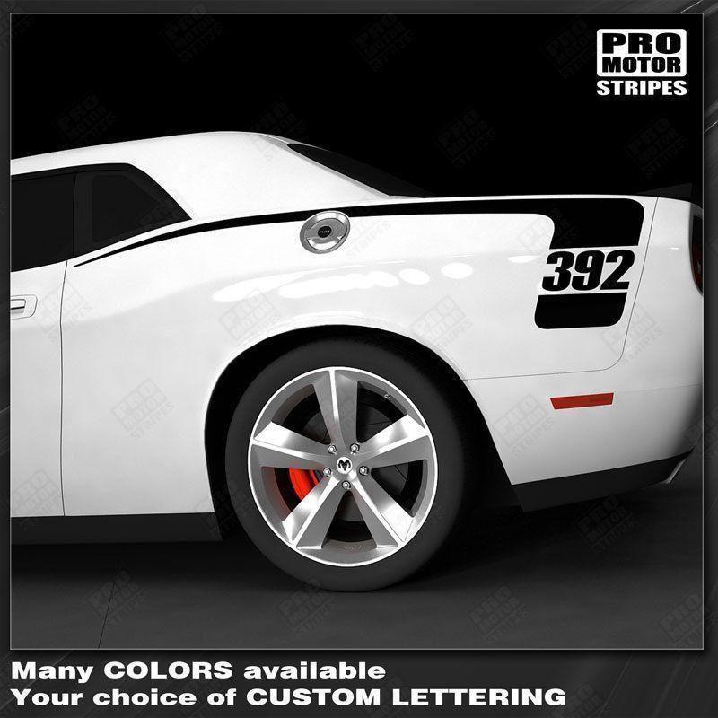 Dodge Challenger 2008-2019 Rear Quarter Side Stripes