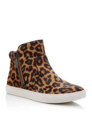 KENNETH COLE Kiera Leopard Print High Top Sneakers.  kennethcole  shoes   sneakers 50e85bed0ff