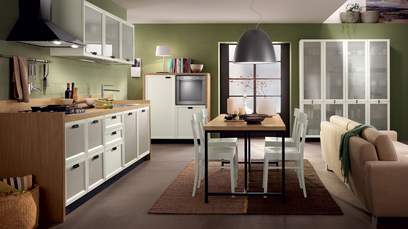 Cuisine équipée Atelier | Scavolini site officiel | La belle ...