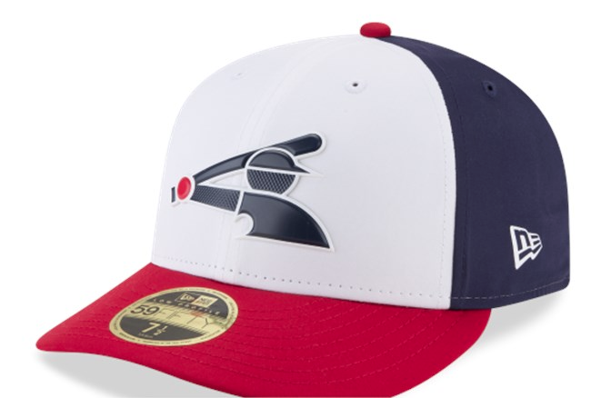 new style 8cc87 a682c Men s Chicago White Sox New Era White Navy Red MLB18 Authentic Collection  Prolight Alternate Low Profile 59FIFTY Fitted Hat
