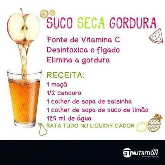 Suco seca gordura!