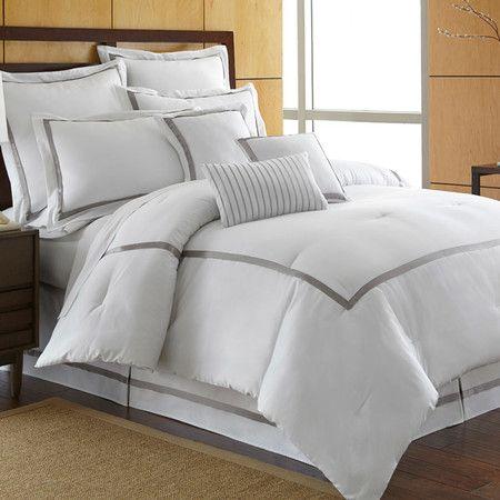 Best Toulouse Comforter Set In Platinum Dormitorios Camas Casas 400 x 300