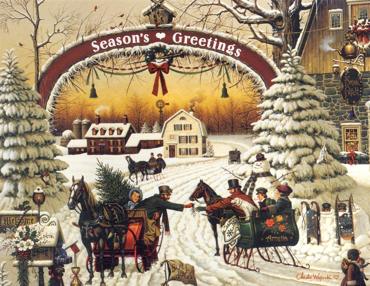 Девушка, открытки с европейским рождеством христовым