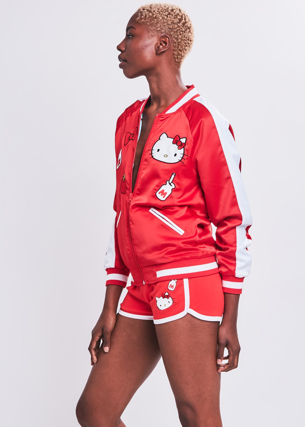 3e8c7257d Hello Kitty Bomber Jacket | NYLON SHOP | Nylon x Sanrio | Jackets ...