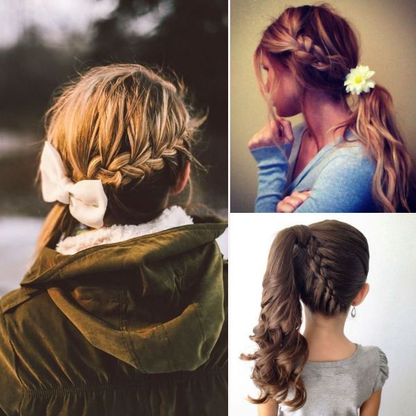 easy braids for school-#main