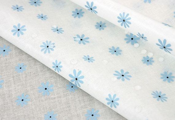 Laminated Vintage Style Blue Flower Pattern by luckyshop0228, $19.90