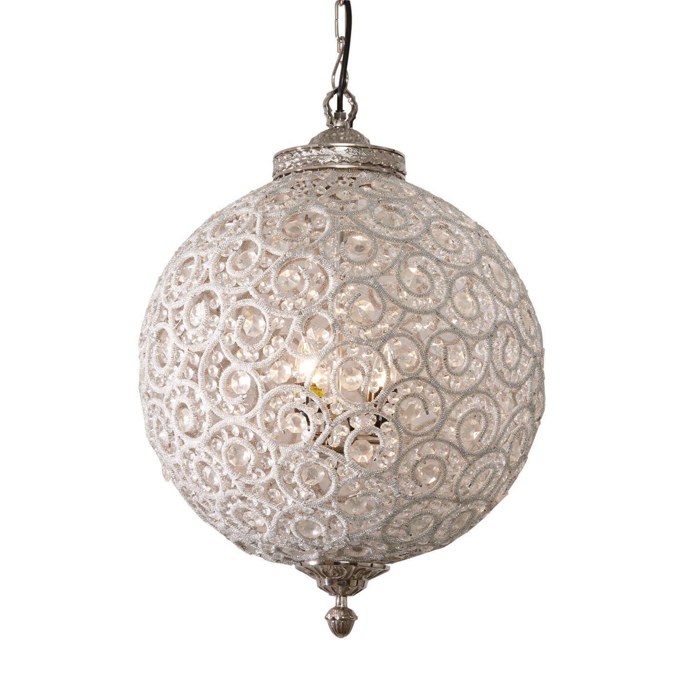 Flowered Ball Chandelier - Ethan Allen US | Lighting | Pinterest ... for Flower Shaped Chandelier  575cpg