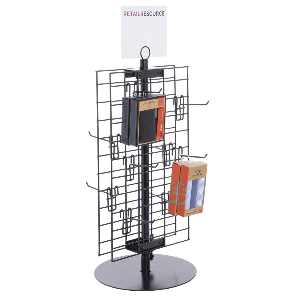 2 Sided Countertop Grid Spinner Rack Countertops Grid Panel