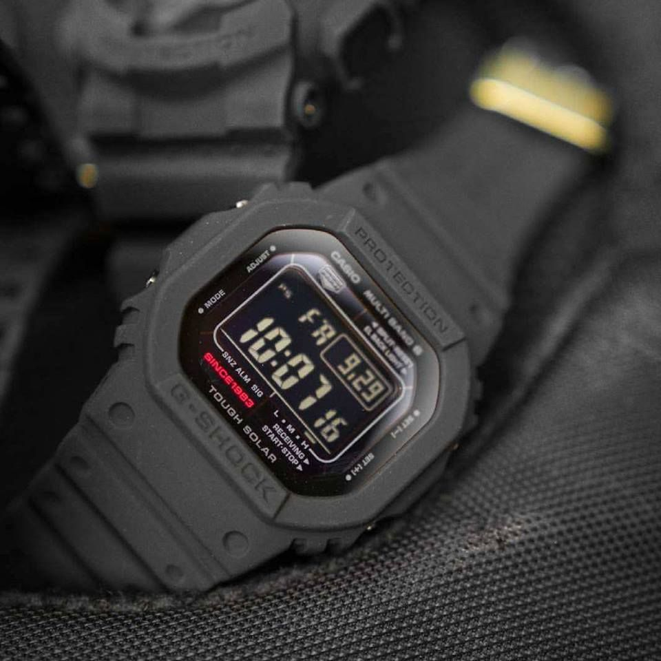 The first wave of G-Shock 35th Anniversary watches have arrived! Now  available the Big Bang Black series  GW5035A-1 466fcea0c0