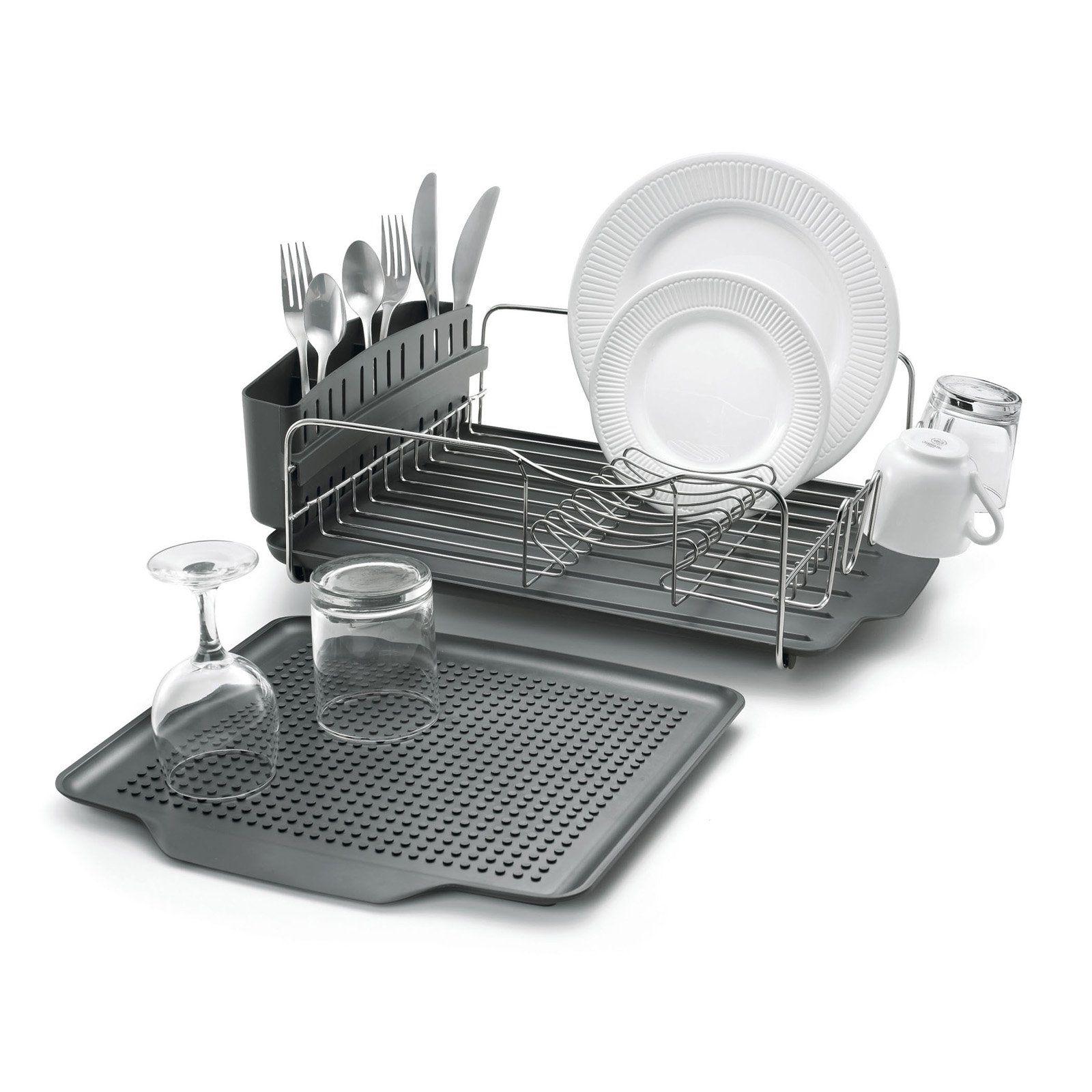 Polder Advantage 4 Piece Dish Rack Dish Rack Drying Dish Racks