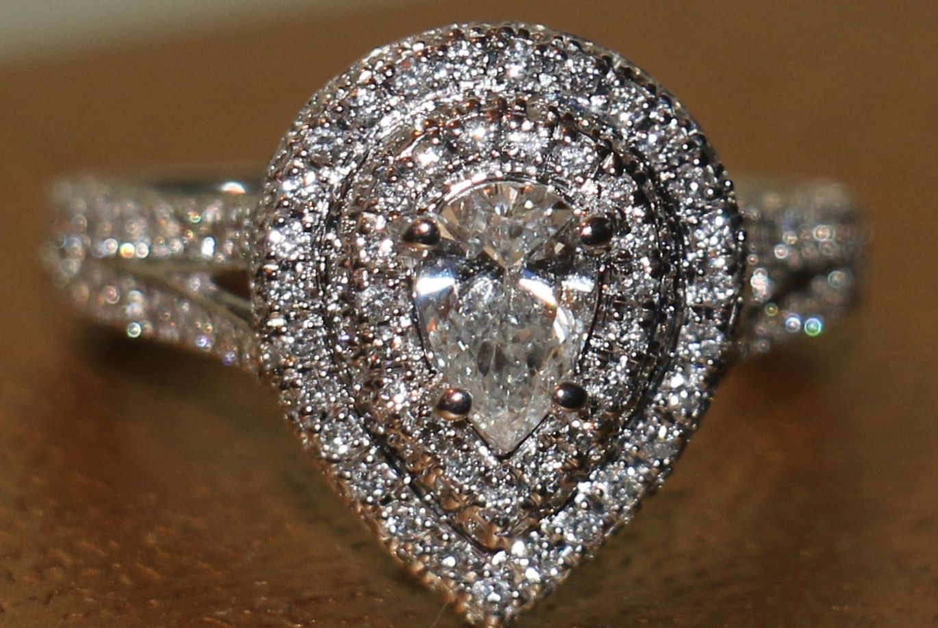 Yes This Is My Neil Lane, 1 3/4 Ct Pear-shape Engagement