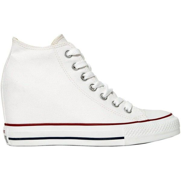 Converse Women 80mm Chuck Taylor Lux Wedge Sneakers ($145