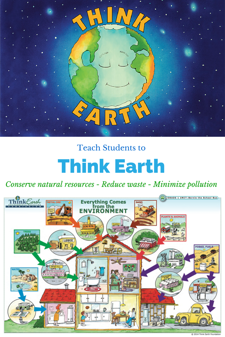The Think Earth environmental education curriculum teaches ...