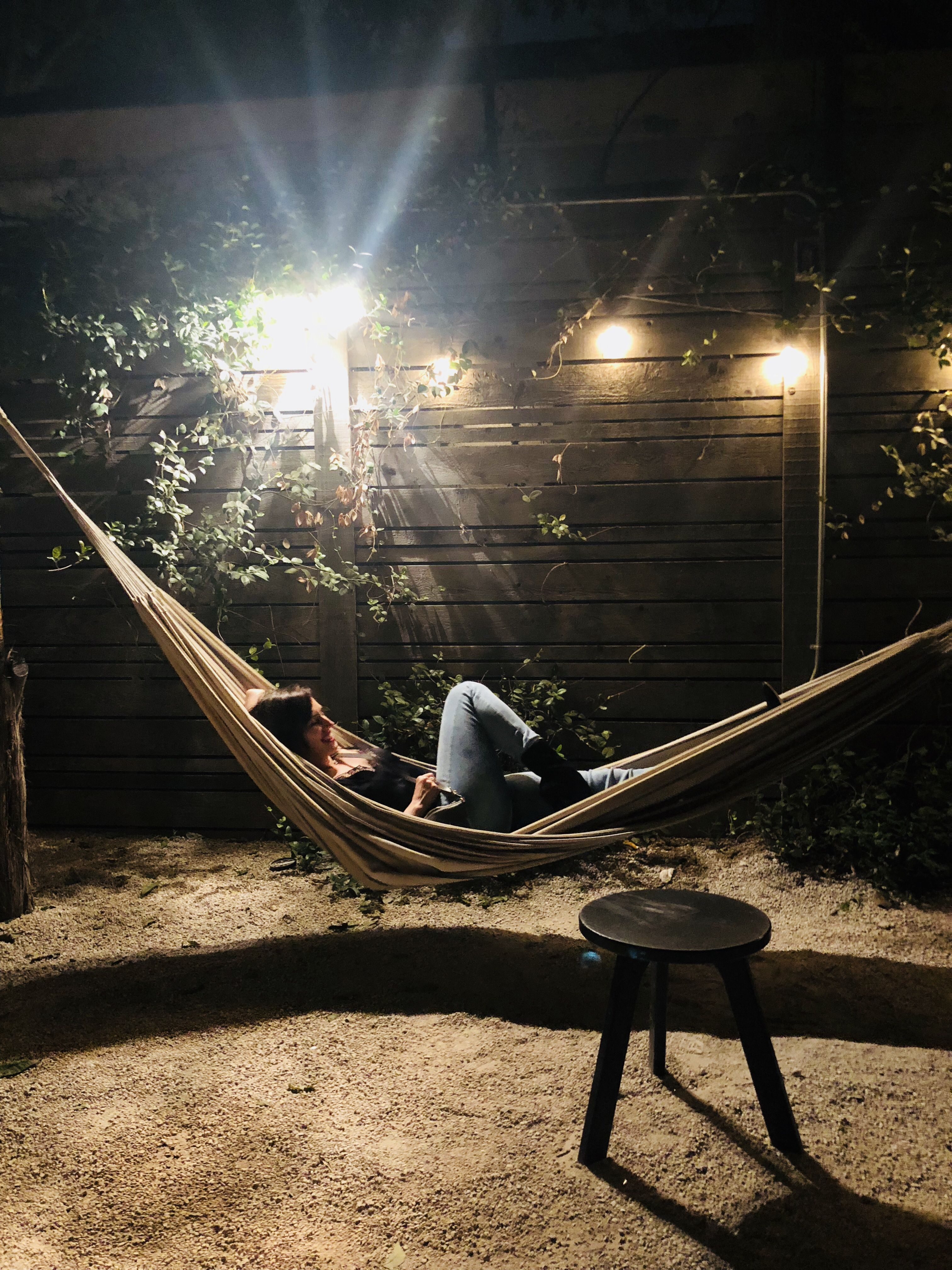 Date night hammocks mom humor parenting hacks travel