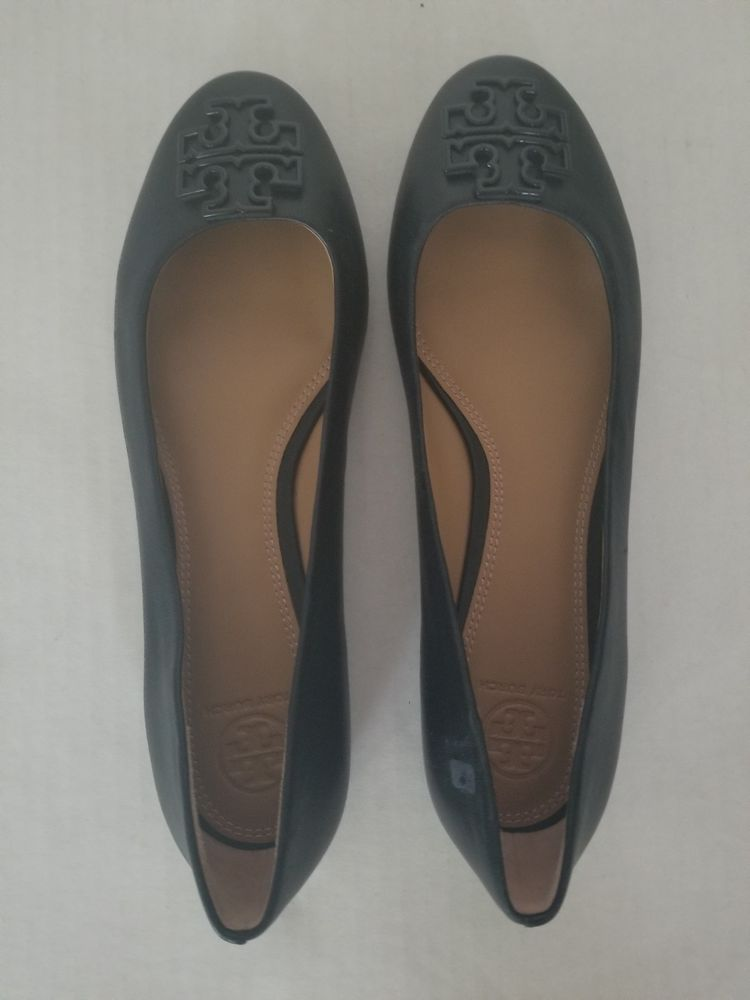 6def7b6a7bde TORY BURCH POWDER COATED MELINDA BALLET NAVY SIZE 8  fashion  clothing   shoes  accessories  womensshoes  flats (ebay link)