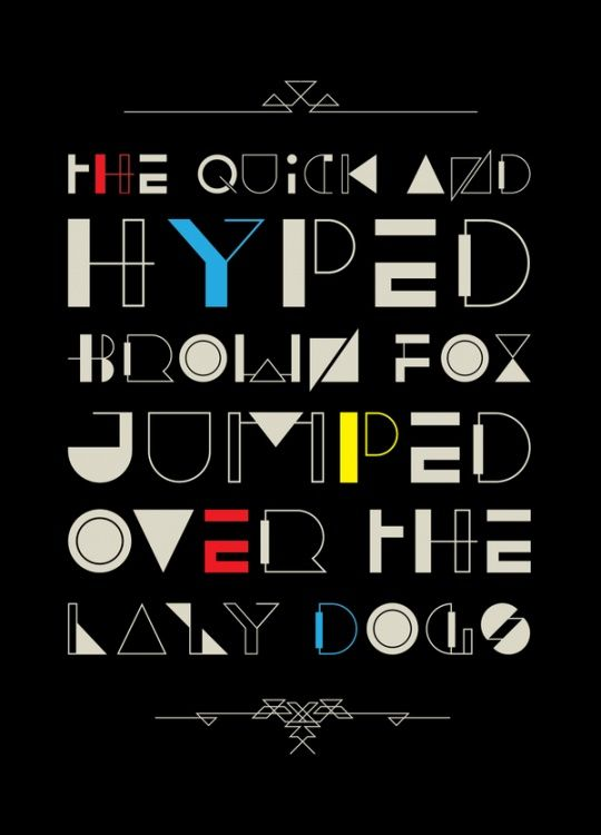 Pin by Posterama co on Typography | Art deco font, Free typeface