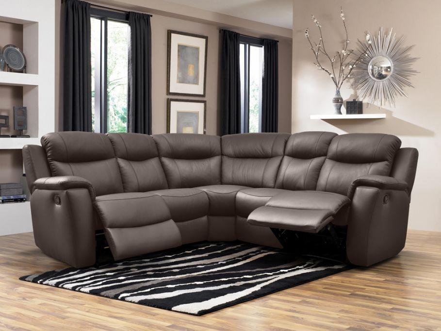 Relaxsofa Leder Ecksofa Evasion - Braun günstig kaufen I Möbel - wohnzimmermöbel günstig online kaufen