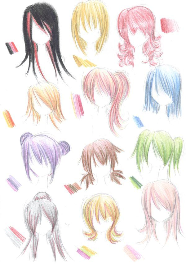 Hairstyle Guide By Nina D Luxdeviantartcom On At Deviantart Disney