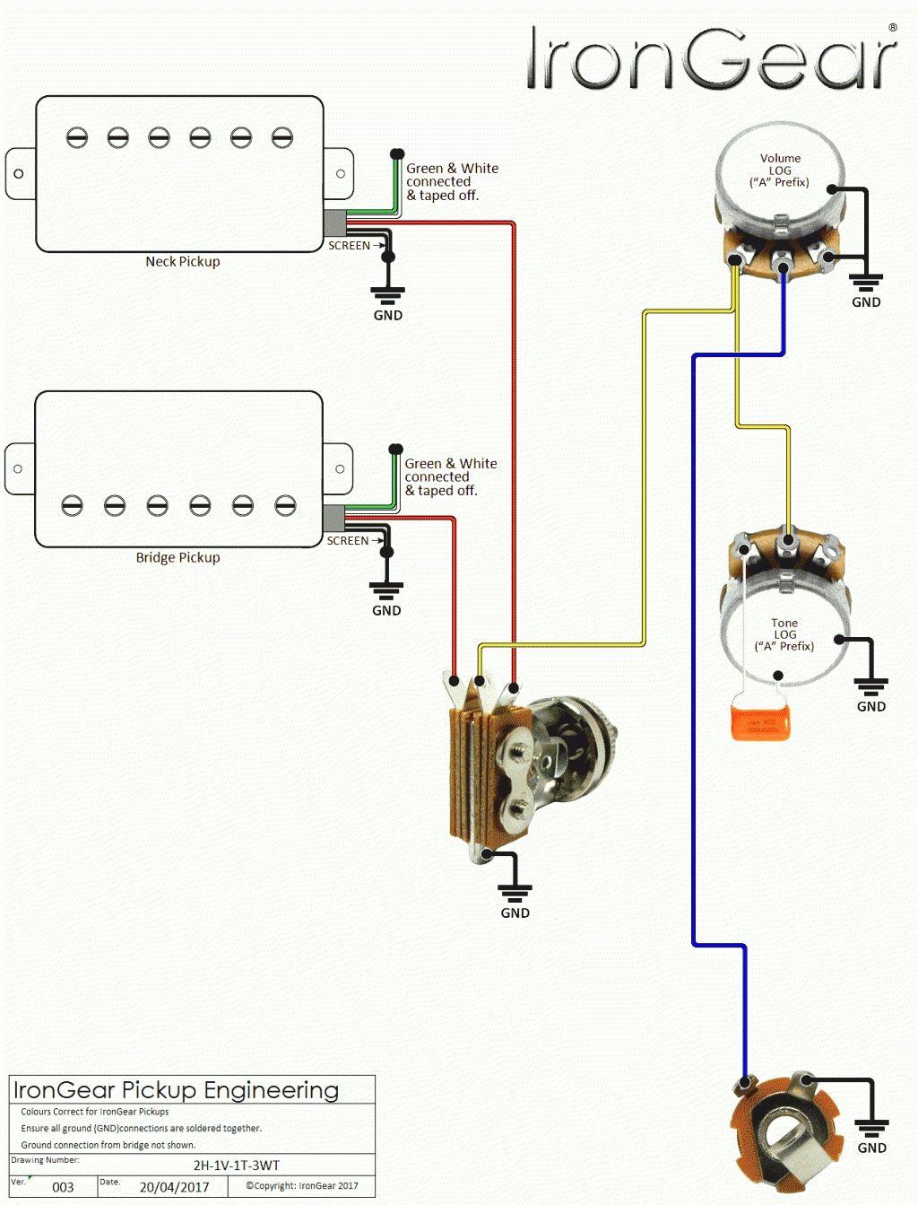electric bass wiring diagram [ 1024 x 1343 Pixel ]