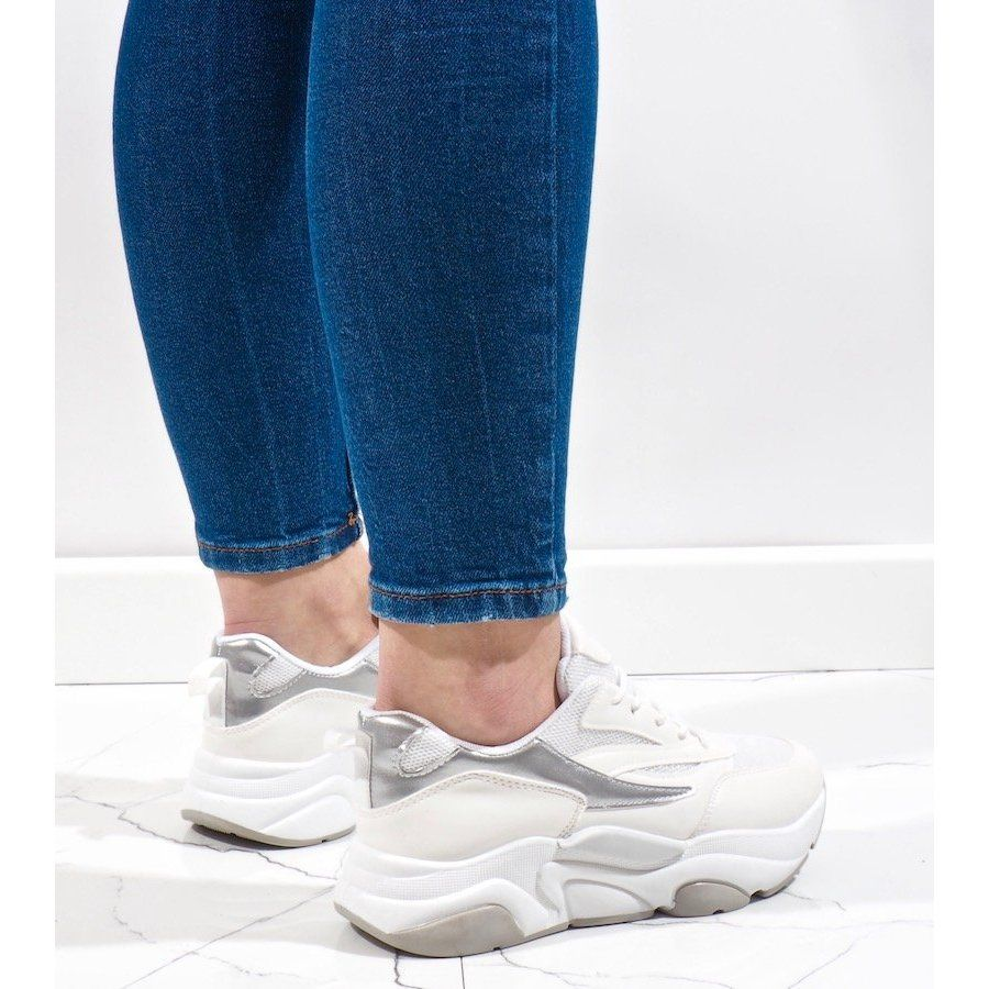 Biale Sneakersy Sportowe Sx001 9 In 2020 Shoes Sneakers Fashion