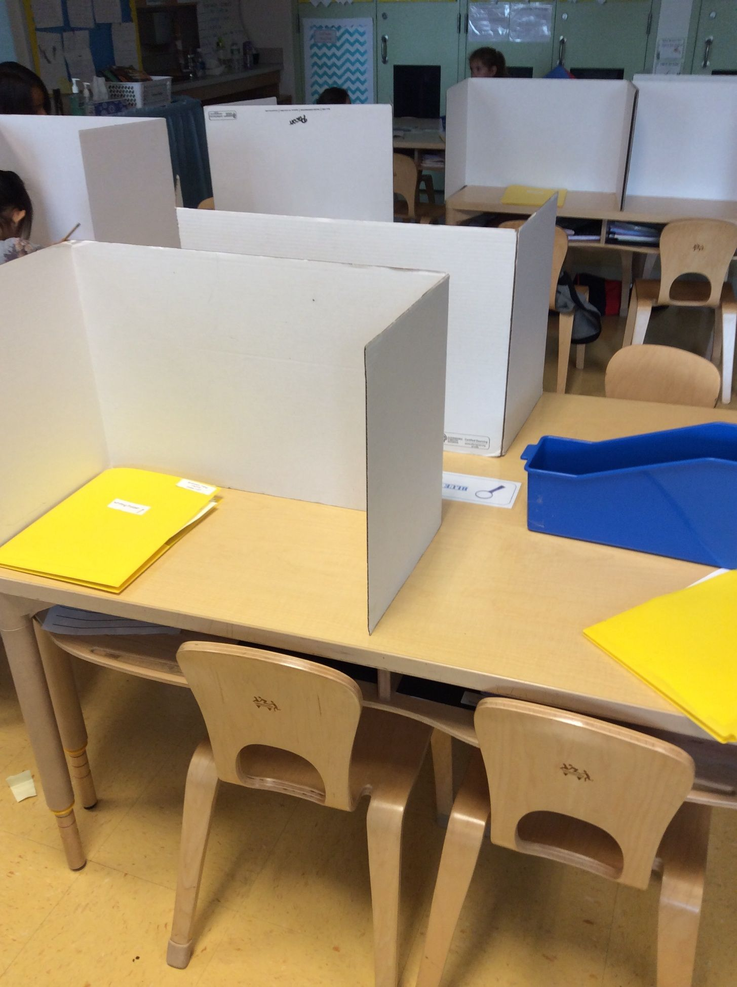 Individual Student Offices Can Decrease Visual