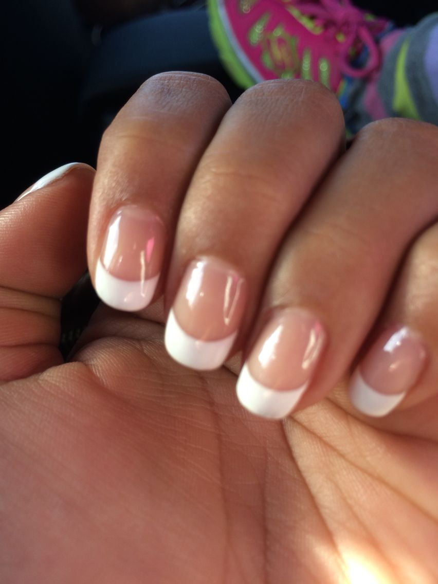 French tips!!! | Nails | Pinterest