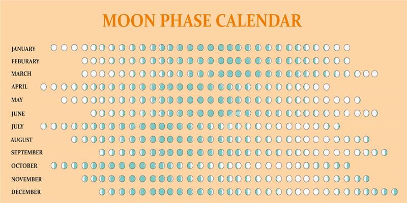 Jewish Lunar Calendar 2019 2019 Moon Phases Printable Calendar [Full, New Moon] | 2019