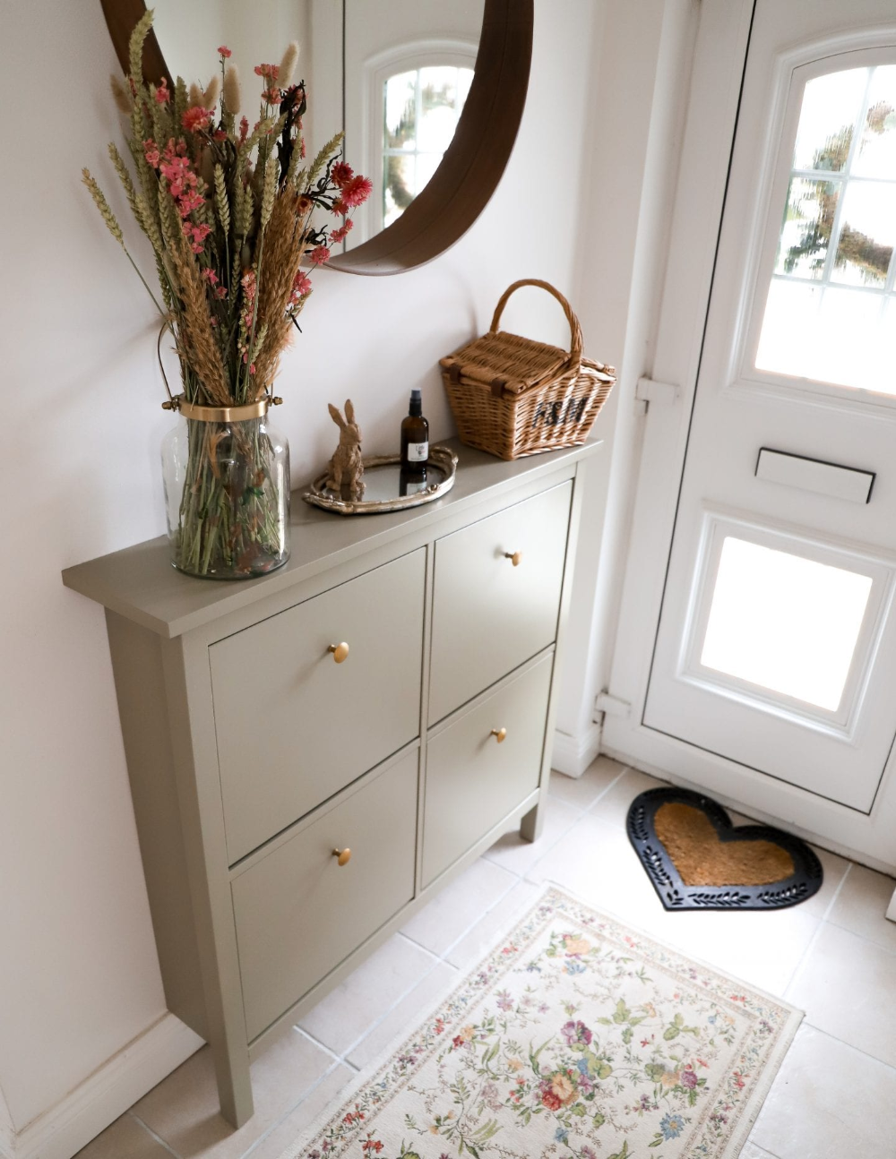 Photo of Boho Ikea Hemnes Shoe Cabinet Makeover – Dainty Dress Diaries