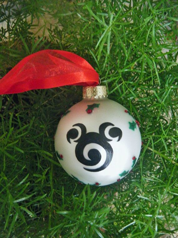 Hand Painted Disney Ornament - Personalized Christmas ...